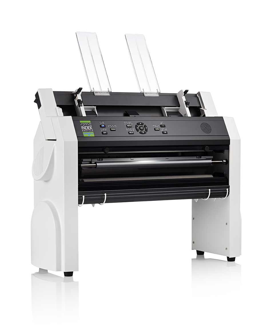 Cut-sheet fed braille printer **Everest-D V5**