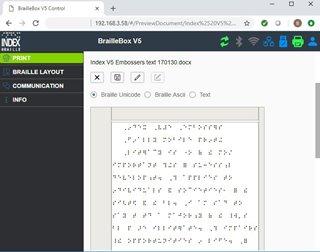 BrailleApp on Internet