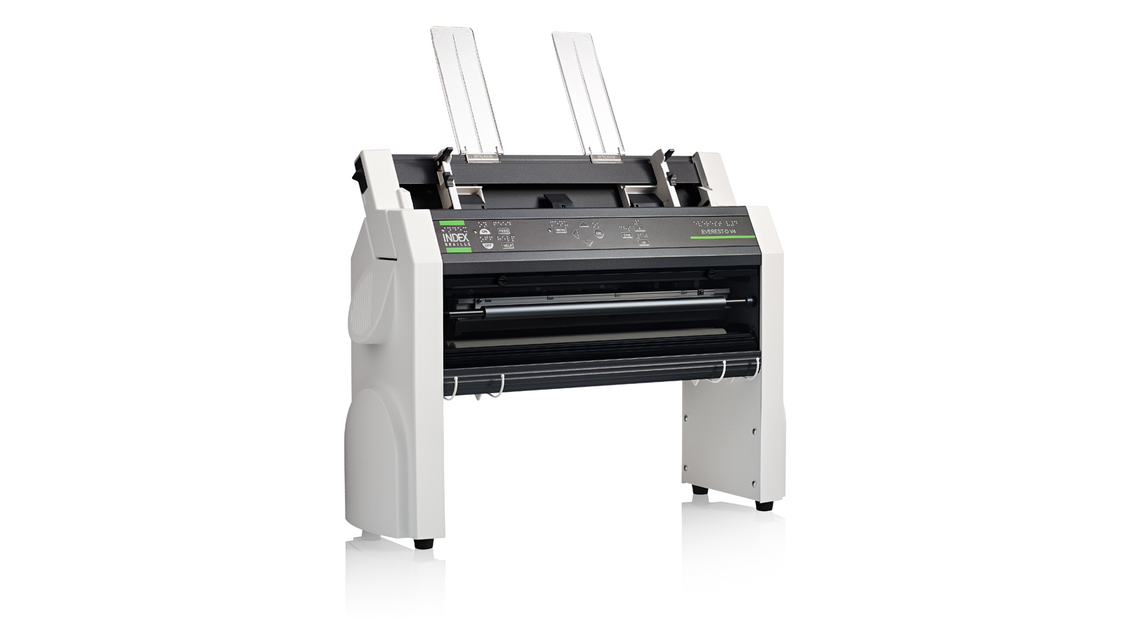 Everest-D V4 : cut sheet fed braille printer