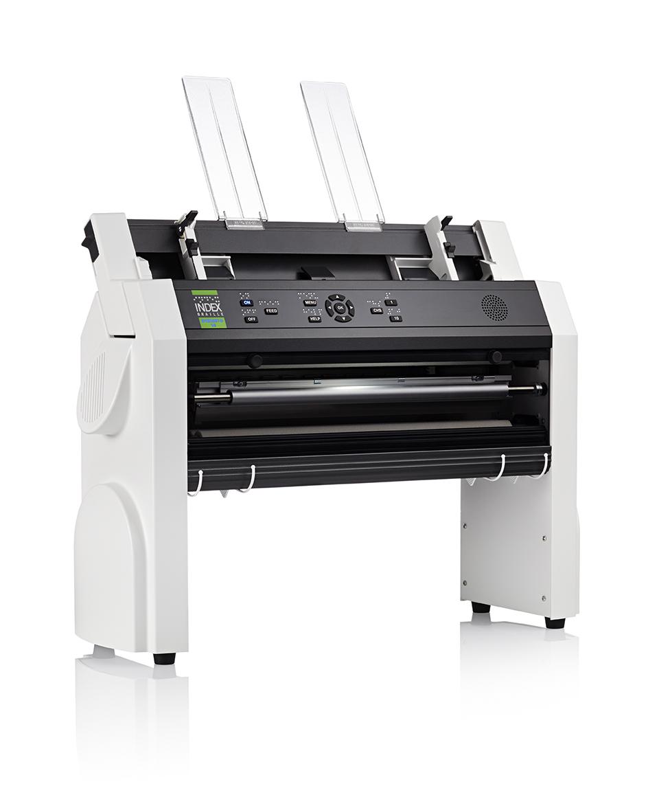 Everest-D V5 cut-sheet fed Braille printer - Index Braille
